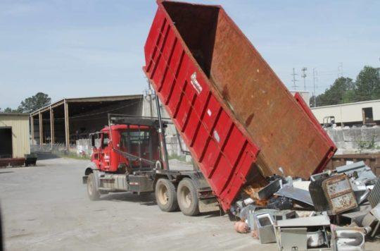Tampa Scrap Metal Dumpster
